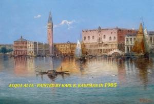 2KarlK.Kaufmann. Acqua Alta 1905