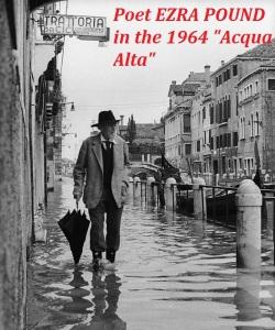 2Poet Ezra Pound in the 1964 flood